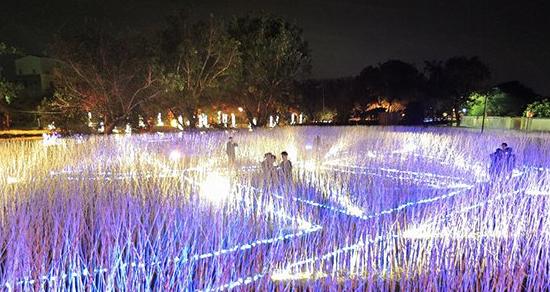 台南月津港燈節絕美燈會 京都藝術燈飾大型光雕必看