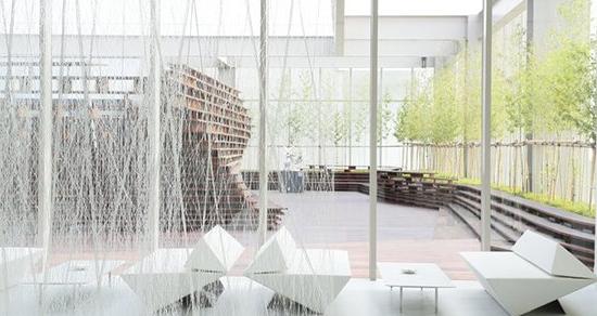 國際級建築新景點在台灣 隈研吾設計純白洸庭空間
