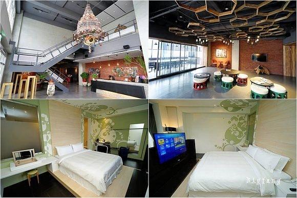 [宜蘭礁溪溫泉飯店] 9號溫泉飯店 No. 9 Hotel @ 帶點 LOFT 設計風格的溫泉飯店~